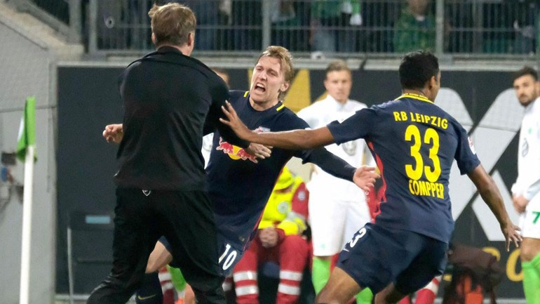 Leipzig continua a surpreender