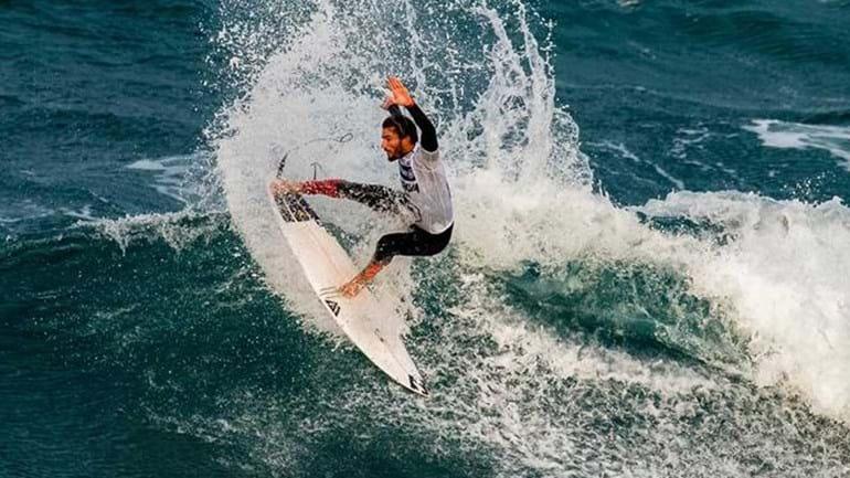 Frederico Morais qualifica-se para a 3.ª ronda em Peniche