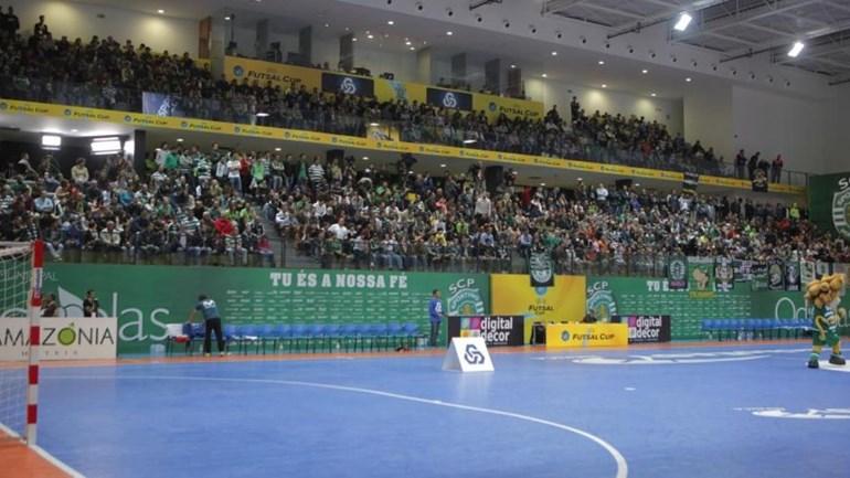 Sporting volta a receber Ronda de Elite da UEFA Futsal Cup
