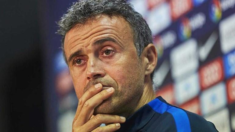 Luis Enrique: «Barcelona-Man. City não vai ser duelo de treinadores»