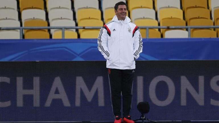 Rui Vitória: «No Benfica não há titulares nem suplentes»