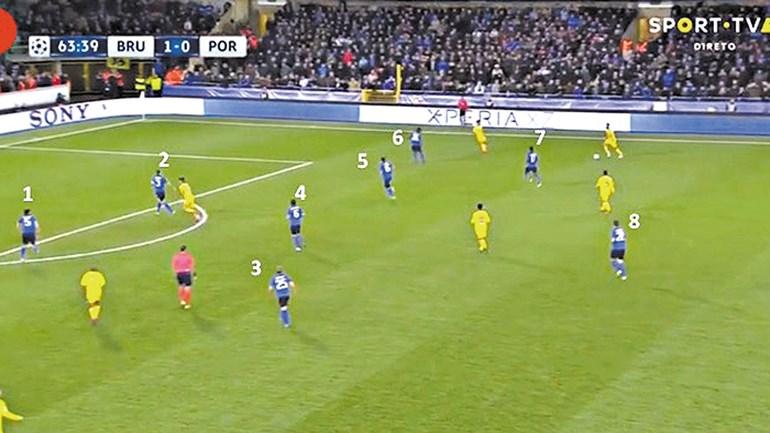 Club Brugge-FC Porto visto à lupa: 60 minutos de avanço