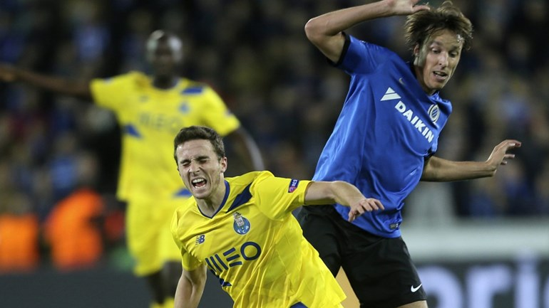 Factos e números do Club Brugge-FC Porto