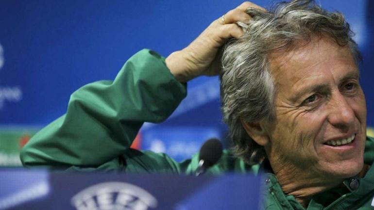 Jorge Jesus não viu jogo no estádio