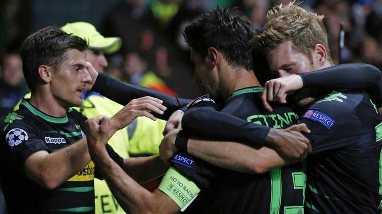 Grupo C: Borussia M'Gladbach vence em casa do Celtic