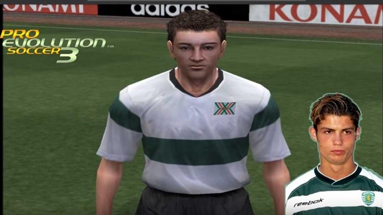 Assim evoluiu o rosto de Ronaldo no... PES