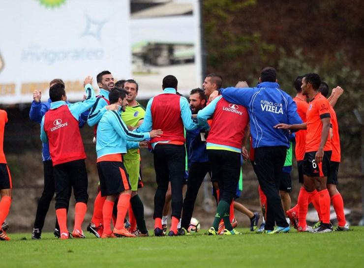 A festa rija de quem afastou os favoritos na Taça de Portugal
