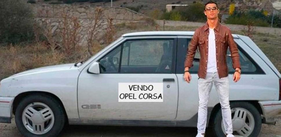 Redes sociais 'deliram' com imagem de Ronaldo
