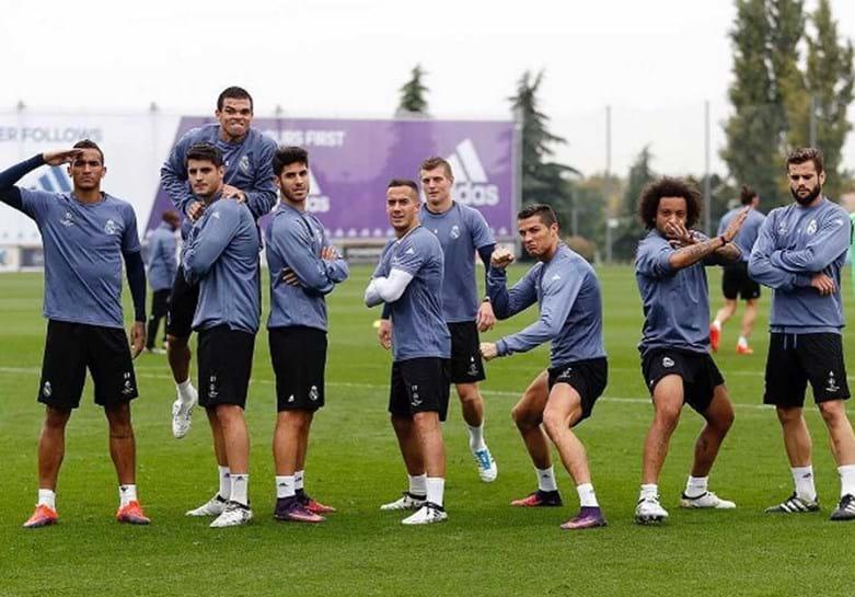 Ronaldo prepara o kung fu para o Legia