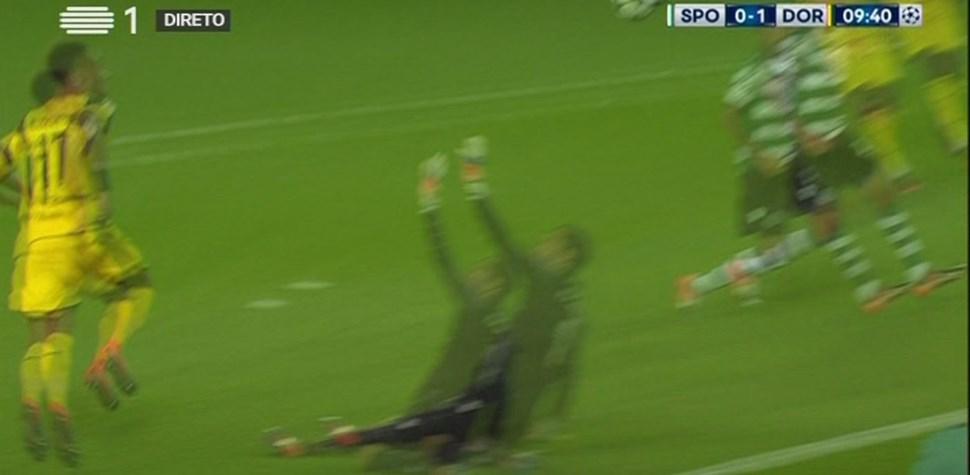 Assim foi o primeiro golo do jogo em Alvalade