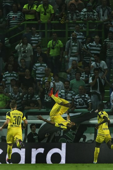 As melhores imagens do Sporting-Borussia Dortmund