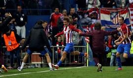 Grupo D: At. Madrid assegura 'oitavos' em cima da hora