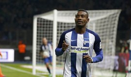 Hat trick de Kalou no triunfo do Hertha