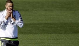 Benzema falha jogo com o Leganés