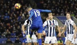 Leicester perde em casa (1-2) com o WBA