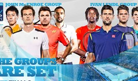 ATP Finals: Djokovic com mais sorte do que Murray no sorteio
