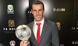 Bale melhor jogador do País de Gales pela sexta vez