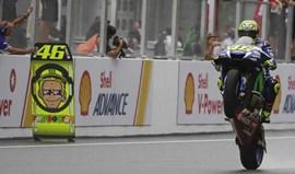 Valentino Rossi: «Gostava de correr durante toda a vida»