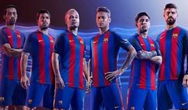 Camisola do Barcelona pode colocar Nike em apuros
