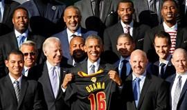 Campeões norte-americanos 'despedem-se' da Casa Branca