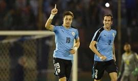 Coates decisivo na vitória do Uruguai
