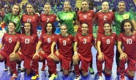 Seleção feminina no Torneio Europeu das Quatro Nações