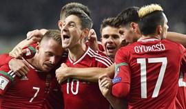 Grupo B: Hungria confirma superioridade com goleada a Andorra