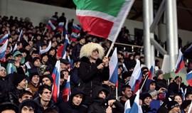 Rússia bate Roménia com golo de Ozdoev aos 90'+3
