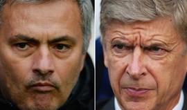 Wenger deixa Mourinho na sombra