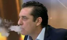 Cuspo ou vapor? Paulo Futre tirou as dúvidas... fumando um cigarro eletrónico em direto