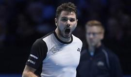 ATP Finals: Wawrinka na luta pelo apuramento