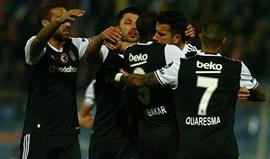 Turquia: Aboubakar marca e Besiktas vence antes da receção ao Benfica