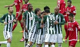 BC Branco-V. Setúbal, 0-2: Sadinos nos 'oitavos'