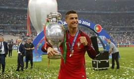Consegue adivinhar qual foi a primeira coisa que Ronaldo fez no dia da final do Euro?