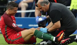 Ronaldo: «Tinha medo que fosse uma rotura total dos ligamentos»