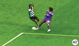Os casos do Sporting-Real Madrid: João Pereira pôs-se a jeito