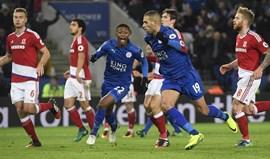 Slimani salva Leicester diante do Middlesbrough