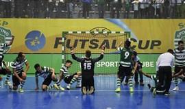 Conheça as equipas apuradas para a final four da UEFA Futsal Cup