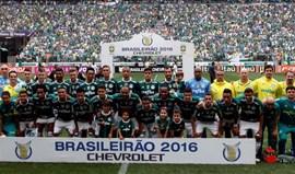 Palmeiras pede para utilizar camisola da Chapecoense