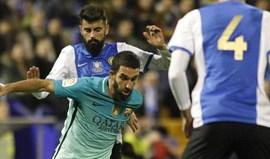 Taça do Rei: Barcelona empata em casa do Hércules