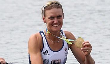 Bicampeã olímpica Heather Stanning deixa a alta competição