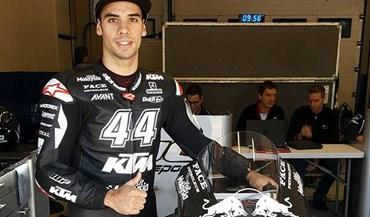 Miguel Oliveira já anda de KTM