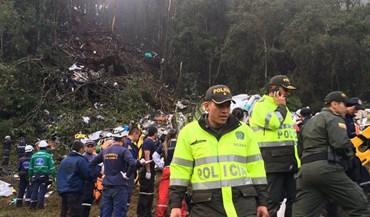 Novas imagens do acidente: avião desfez-se numa zona de floresta
