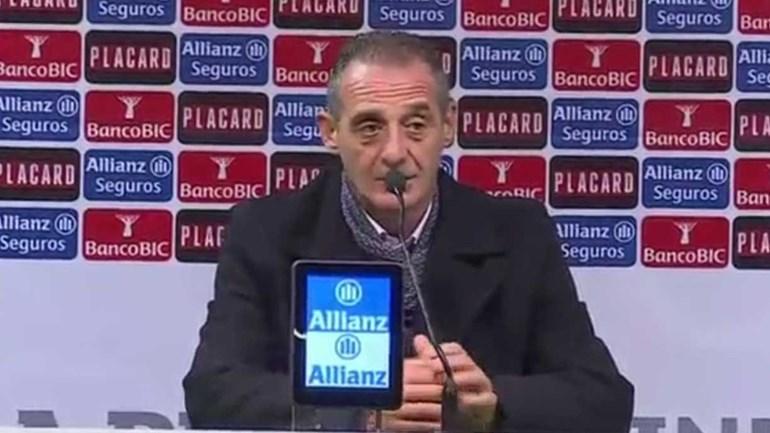Francisco Agatão: «Segundo golo fez desmoronar a nossa estrutura»