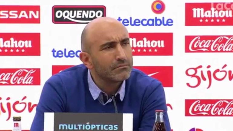 Treinador do Sp. Gijón compara jornalista a Van Gaal: «Vêem sempre a m....»
