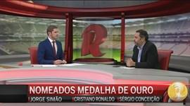 Cristiano Ronaldo voltou a bater a concorrência nas Medalhas da Semana
