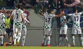 Moreirense vence Feirense com bis de Boateng... e Augusto Inácio é expulso