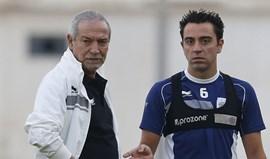 Qatar: Golo de Xavi oferece vitória a Jesualdo Ferreira