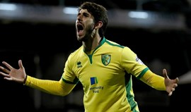Nélson Oliveira marca na goleada do Norwich