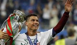 Cristiano Ronaldo também é rei no Instagram